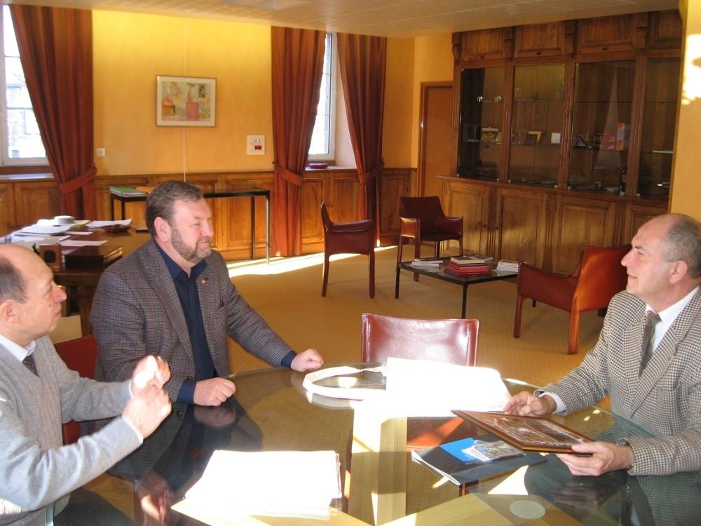 Делегация ТУСУР была официально принята президентом Лиможского университета