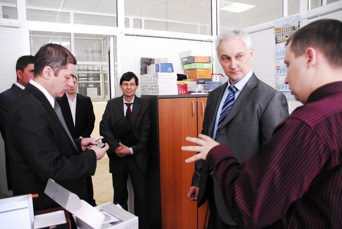 СБИТУСУР посетили представители правительстваРФ