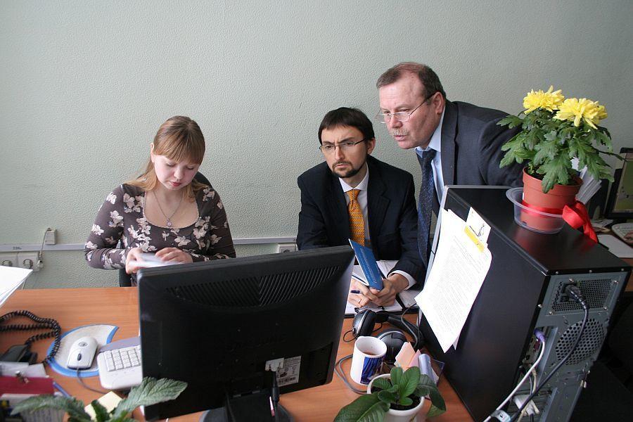 Д. К. Скатников проводит аудит ЛИСМО