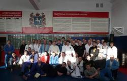 Вспорткомплексе ТУСУР прошёл Международный семинар покомбат джиу-джитсу