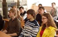 12апреля накафедре РТСбыло проведено праздничное мероприятие, посвящённое 50-летию полета вкосмос Ю.А.Гагарина