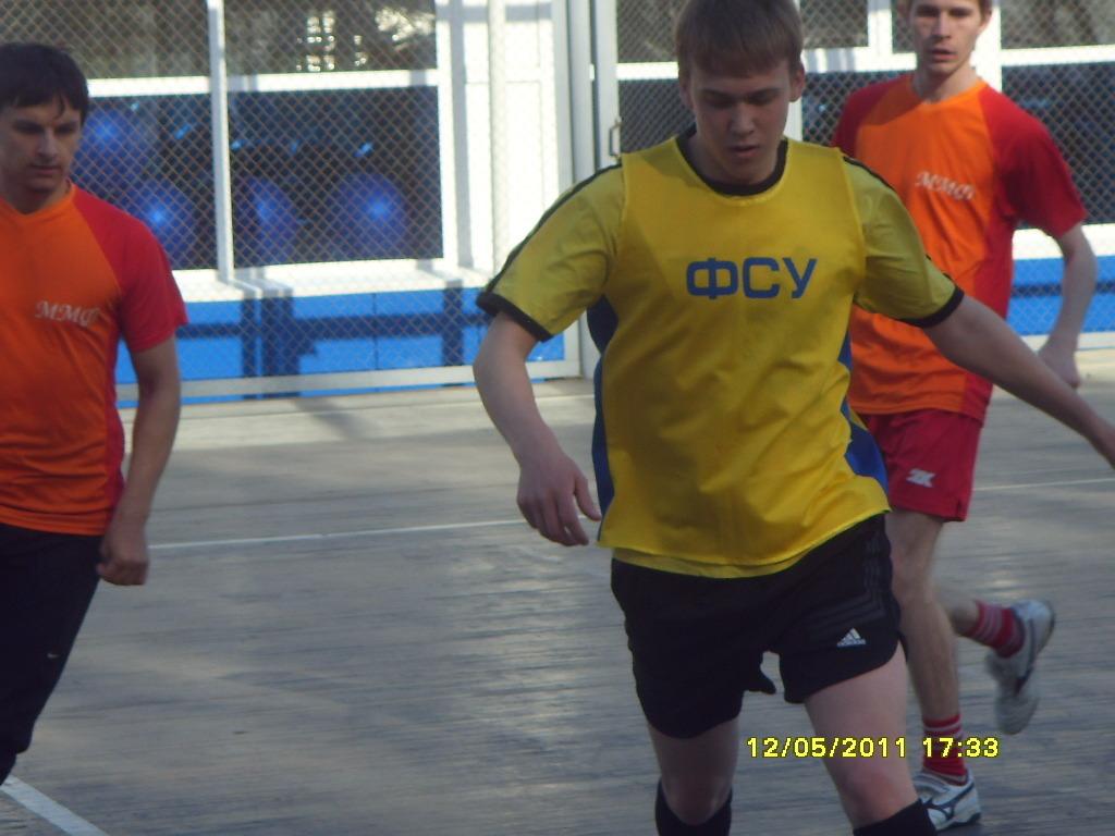 Команды РТФиФСУ заняли IIIиIV места намежвузовских соревнованиях помини-футболу