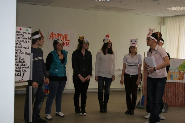 Студенты ФИТорганизовали театральное представление наанглийском языке