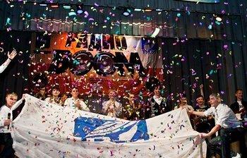 Обладателем кубка фестиваля «РадиоBOOM – 2011» стала команда КВН«56-я параллель»