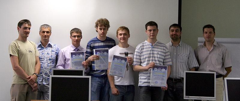 11июня состоялось вручение сертификатов поитогам прохождения студентами стажировок введущих томских IT-компаниях