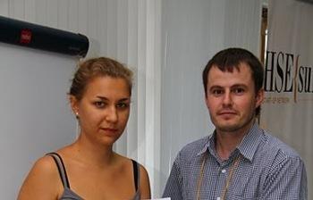 Директор студенческого бизнес-инкубатора «Дружба» Антон Титков представил опыт СБИналетней школе бизнес-инкубатора Высшей школы экономики поподдержке иразвитию предпринимательства