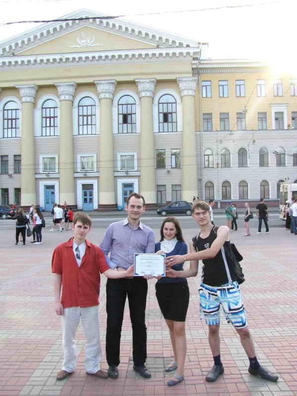 Команда студентов ТУСУРа заняла второе место намеждународной олимпиаде попрограммированию вLabVIEW