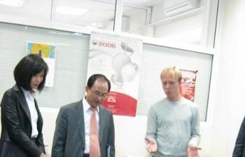 Делегация Ульсанского технопарка посетила студенческий бизнес-инкубатор «Дружба» ТУСУР