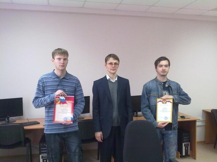 Кафедра КИБЭВС ФВСТУСУР наградила победителей шестой международной олимпиады помикроэлектронике