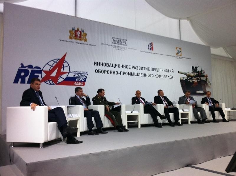 Делегация ТУСУРа посетила Международную выставку вооружения, военной техники и боеприпасов