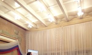 Представители кафедры РТС, ОАО«Информационные спутниковые системы» иНПЦ «Полюс» провели встречи стомскими школьниками истудентами