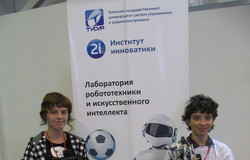 Делегация ТУСУРа выступила наСибирском робототехническом фестивале
