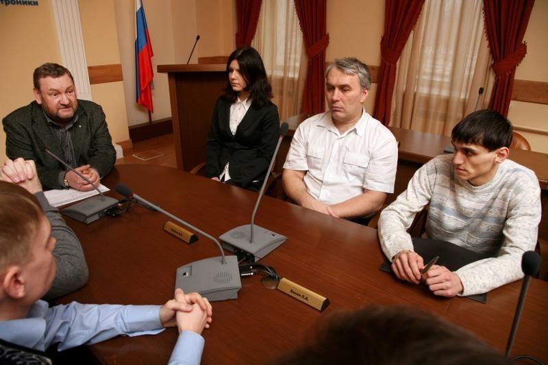 Защиа диссертационной работы А.В. Тюнькова