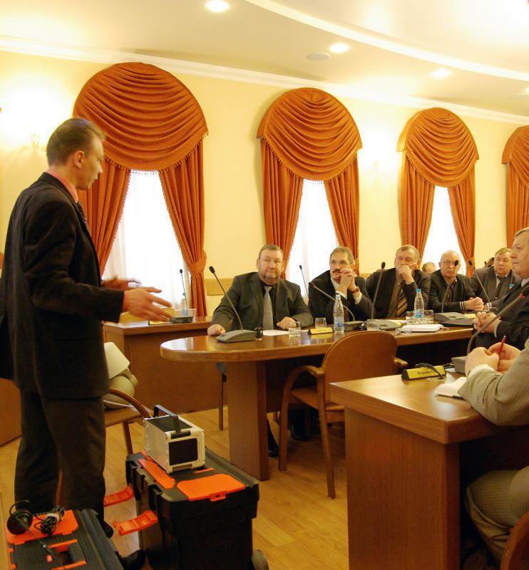 В ТУСУРе прошло совещание с целью определения перспектив использования разработок вуза для органов внутренних дел