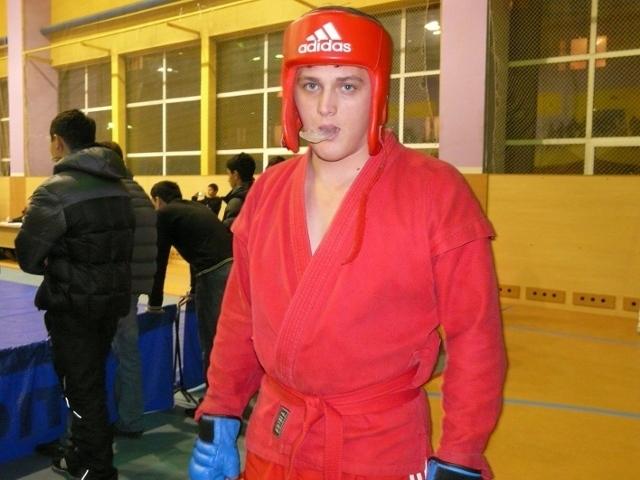Студент ТУСУРа занял первое место всоревнованиях побоевому самбо