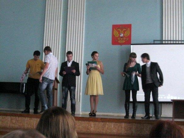 Посвящение студентов-первокурсников кафедры РЭТЭМ