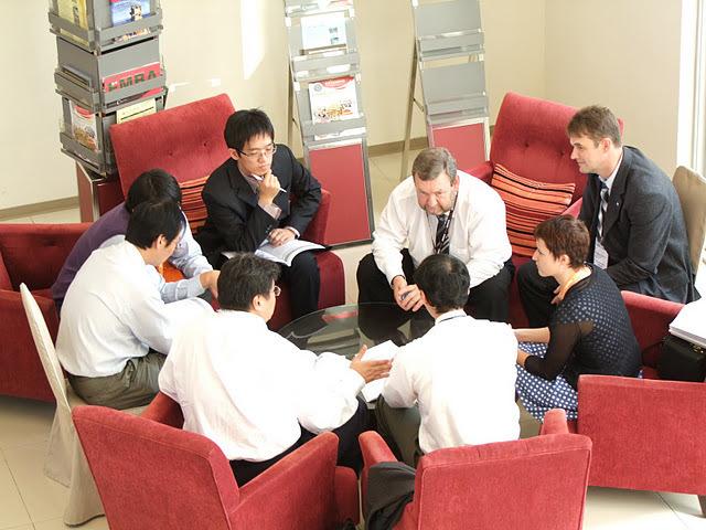 Обсуждение перспектив международногосотрудничества