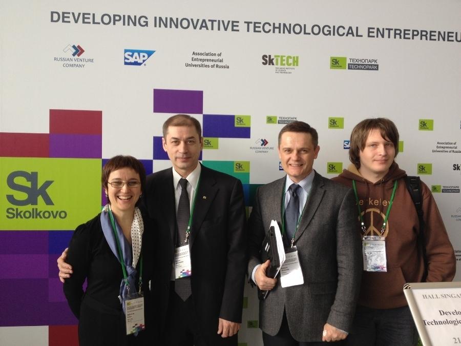 ТУСУР представил опыт развития предпринимательского университета навсемирной конференции предпринимательских университетов вСколково
