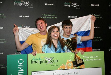 Команда ТУСУРа Bonjour Development заняла первое место нароссийском этапе Imagine Cup