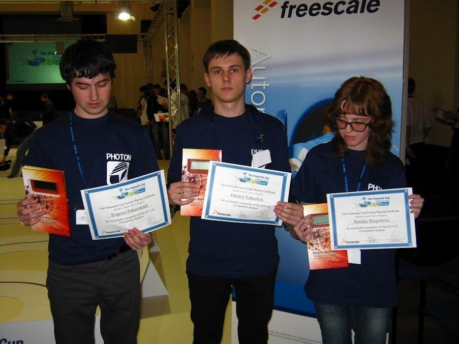 Студенты ТУСУРа приняли участие вевропейском финале соревнований Freescale Cup