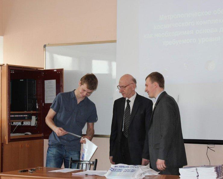 12апреля накафедре РТСпрошло мероприятие, посвящённое Днюкосмонавтики