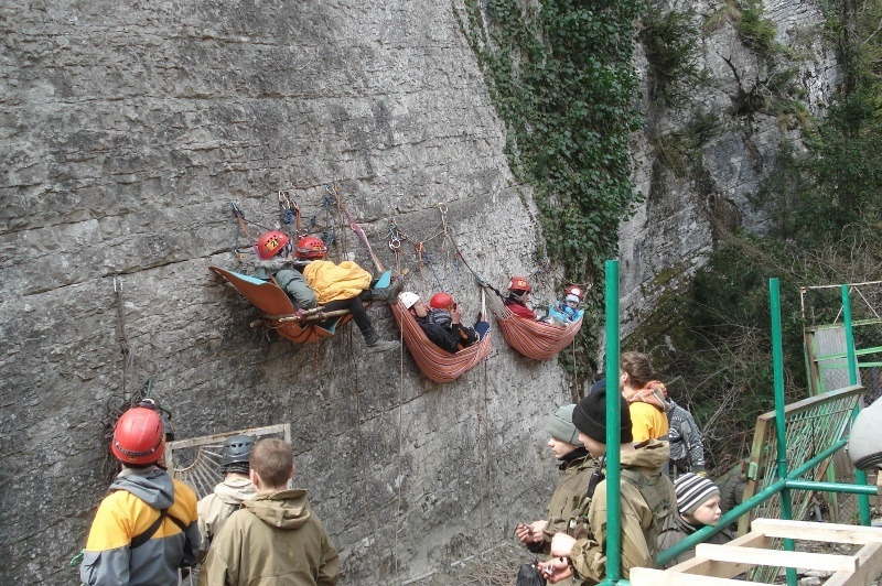 Туристско-альпинистский клуб ТУСУРа принял участие вовсероссийских соревнованиях попоисково-спасательным работам