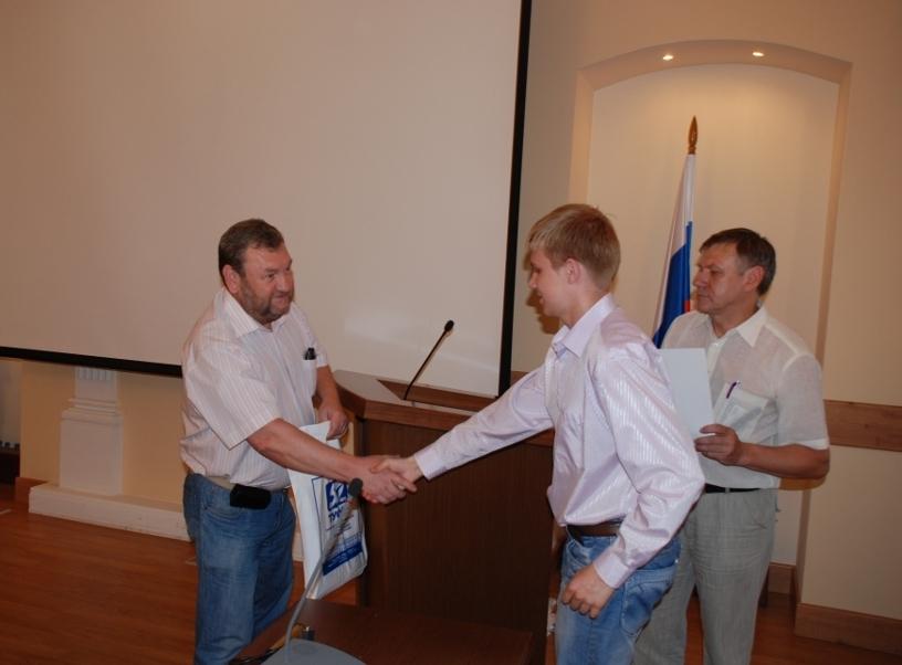 26июня 2012 года состоялось награждение победителей программы «У.М.Н.И.К.»
