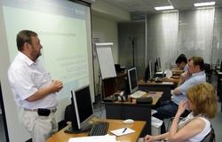 19июня состоялось открытие курсов повышения квалификации дляработников пенсионного фонда РФв Томске