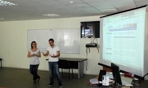 Студенты Лиможского университета успешно защитили практику