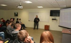 Врамках площадки «Заряди свою идею!» 27сентября вСБИ «Дружба» прошёл семинар «Где найти свою идею?»