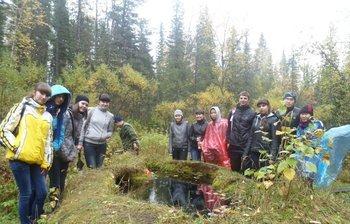 Студенты ТУСУРа посетили уникальный памятник природы «Таловские чаши»