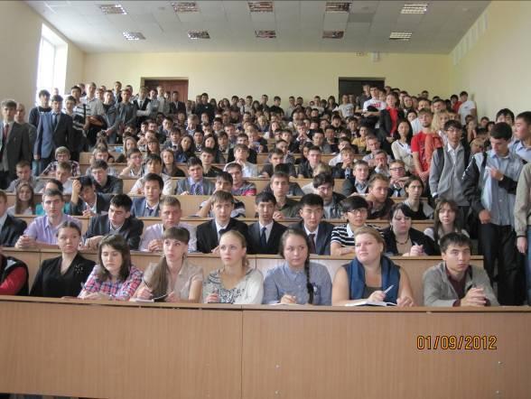 Главный корпус ТУСУРа, первый курс РТФ