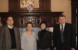 Делегация сибирских университетов в торговом представительстве РФ в Королевстве Нидерландов, Амстердам