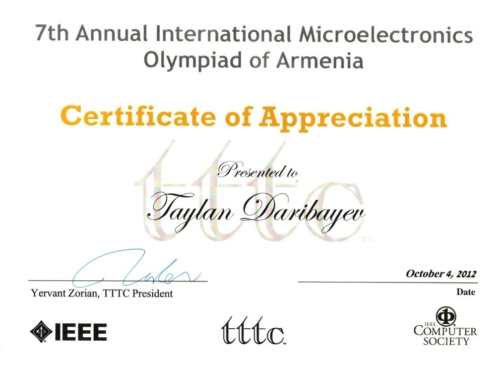Магистрант ТУСУРа стал победителем среди представителей России намеждународной олимпиаде помикроэлектронике