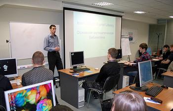 С2 по4 октября вЦентре международной IT-подготовки ТУСУРа прошёл практический тренинг «Оптимизация приложений сиспользованием библиотеки Intel Math Kernel Library (MKL)»