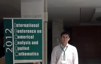 Элитный аспирант ТУСУРа Дмитрий Кручинин принял участие вконференции 10th International conference ofnumerical analysis andapplied mathematics (ICNAAM 2012)