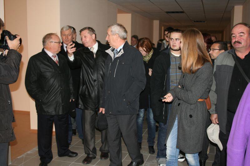 Вчера, 2октября, состоялось открытие нового учебного корпуса ТУСУРа
