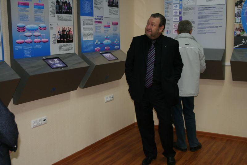 Сегодня состоялось торжественное открытие после реконструкции музея истории ТУСУРа