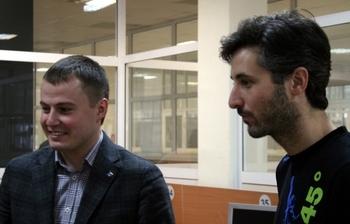 26ноября вМСБИ «Дружба» состоялась встреча резидентов сруководителем французского бизнес-акселератора Ob'vious