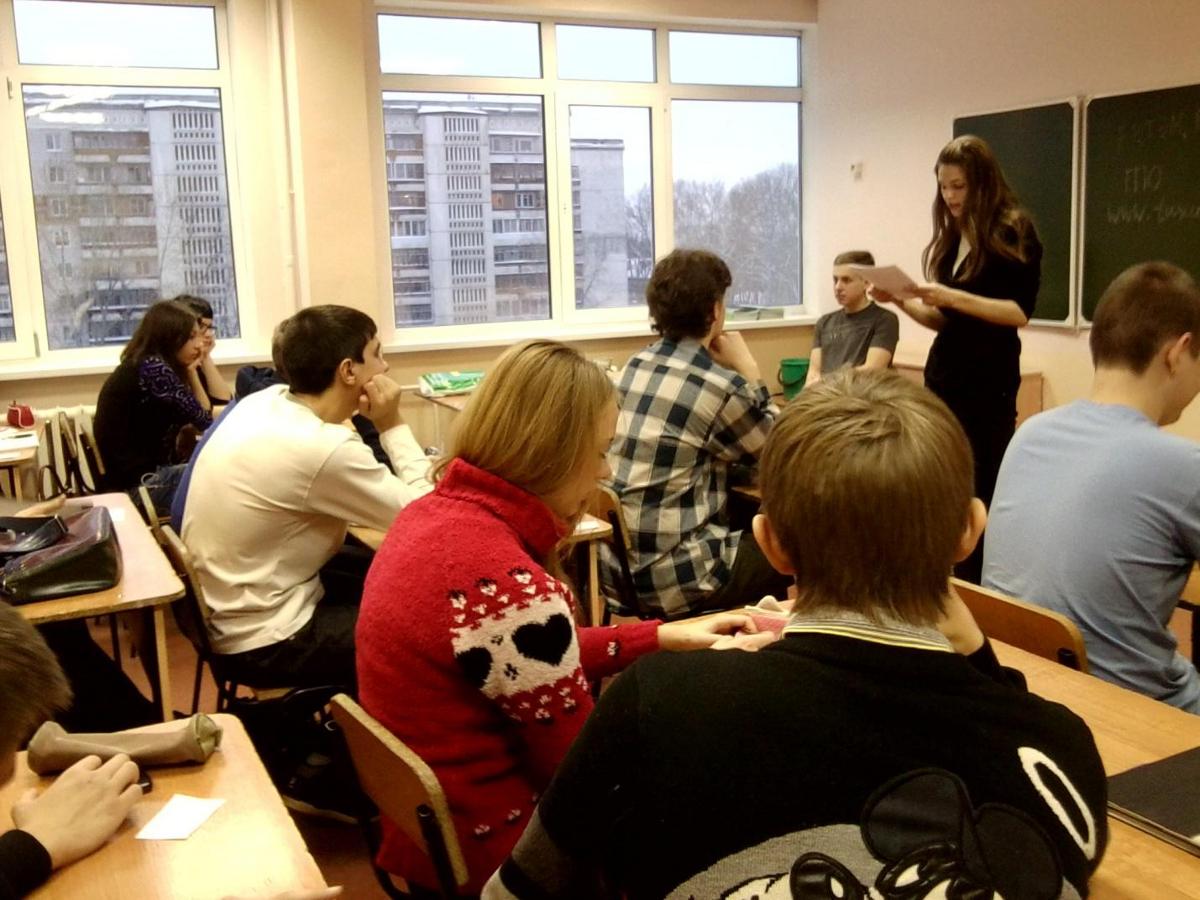 Представители кафедры РЭТЭМ провели профориентационные беседы сучениками школы №40