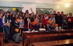 31октября кафедра иностранных языков отмечала Хэллоуин