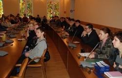 ВТУСУРе состоялось организационное собрание аспирантов первого года обучения, зачисленных порезультатам вступительных экзаменов в2012 году