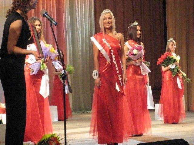 Выпускница ТУСУРа стала победительницей конкурса «Краса Сибирских Афин – 2012»
