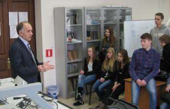 30ноября РКФпровёл очередную экскурсию дляшкольников Северска