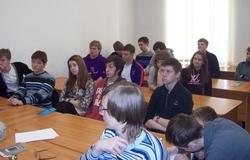 Кафедру РЭТЭМ посетили школьники изЖелезногорска