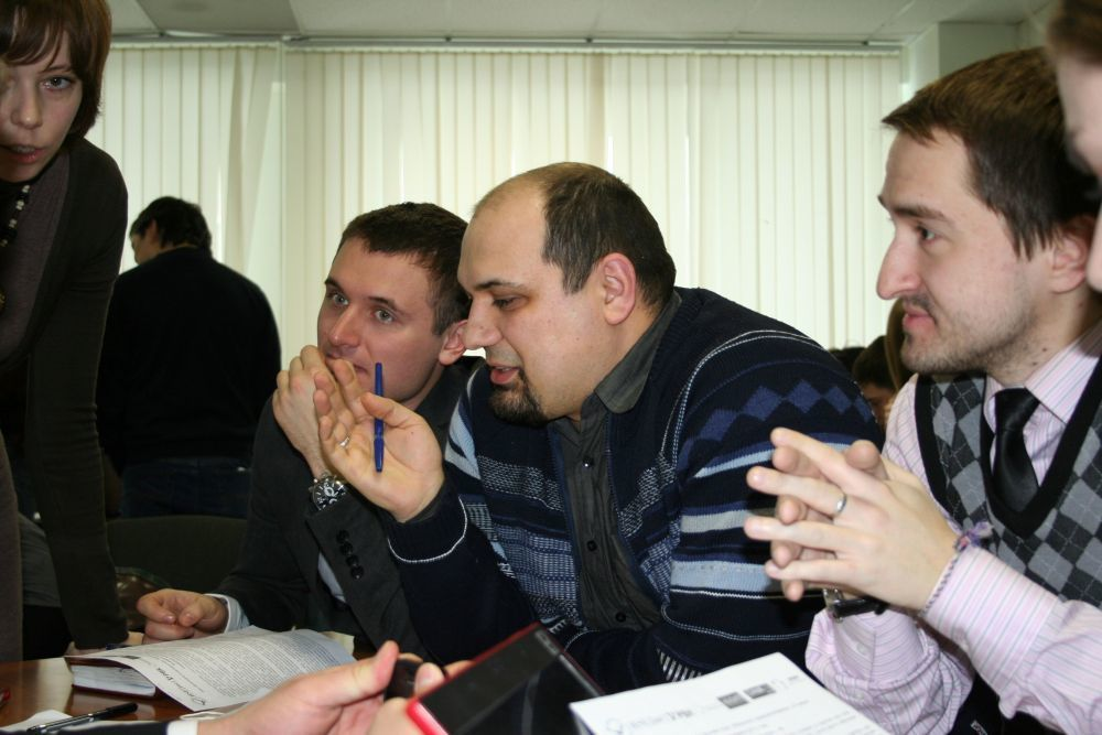 ВСБИ «Дружба» состоялась деловая игра «Железный предприниматель»