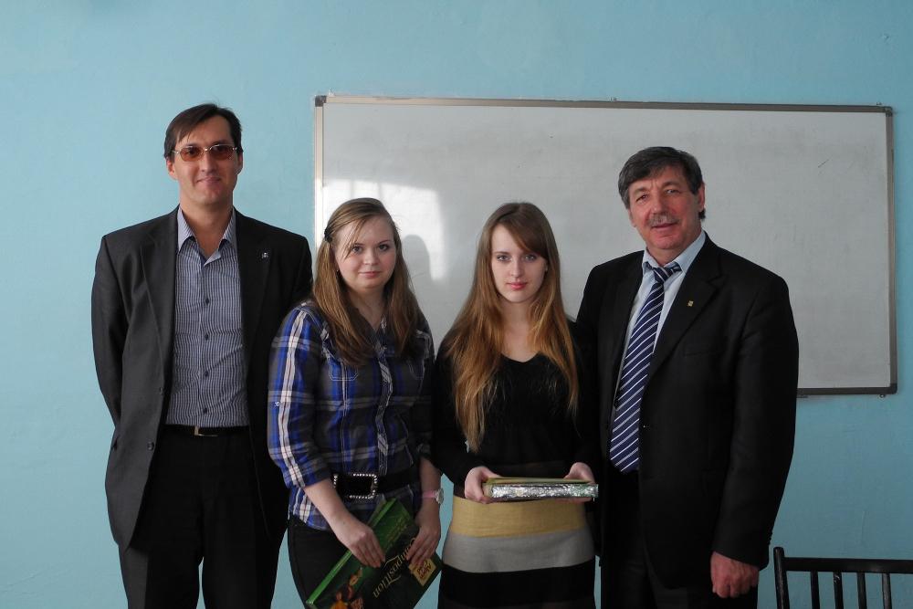 Кафедра АОИотметила лучших студентов первого курса