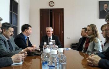 Ю.А.Шурыгин встретился сглавой университетских программ компании Freescale Semiconductor поЕвропейскому региону