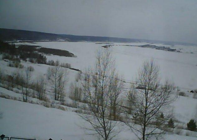 Центр космического мониторинга ТУСУРа ведёт видеосъёмку таяния снега иледохода Томи скорпусаРК