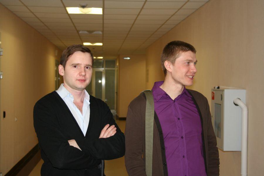Иван Кречетов и Дмитрий Муха, сотрудники 2IT 2И ТУСУР